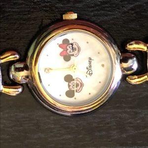 Mickey & Minnie (Gold & Silver Tone)